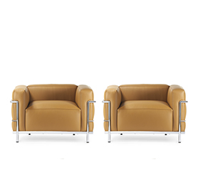 2 x LC3 Sessel - Charles Eames