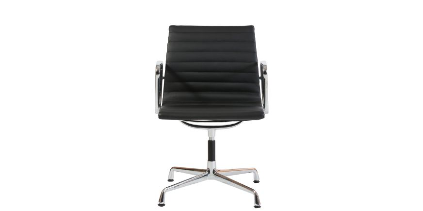 Stockware Sales: EA108 Aluminium Group Chair schwarz - Charles Eames - 1956