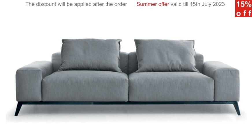 Canap de design ellen by musaspa - Sofa canape difference ...