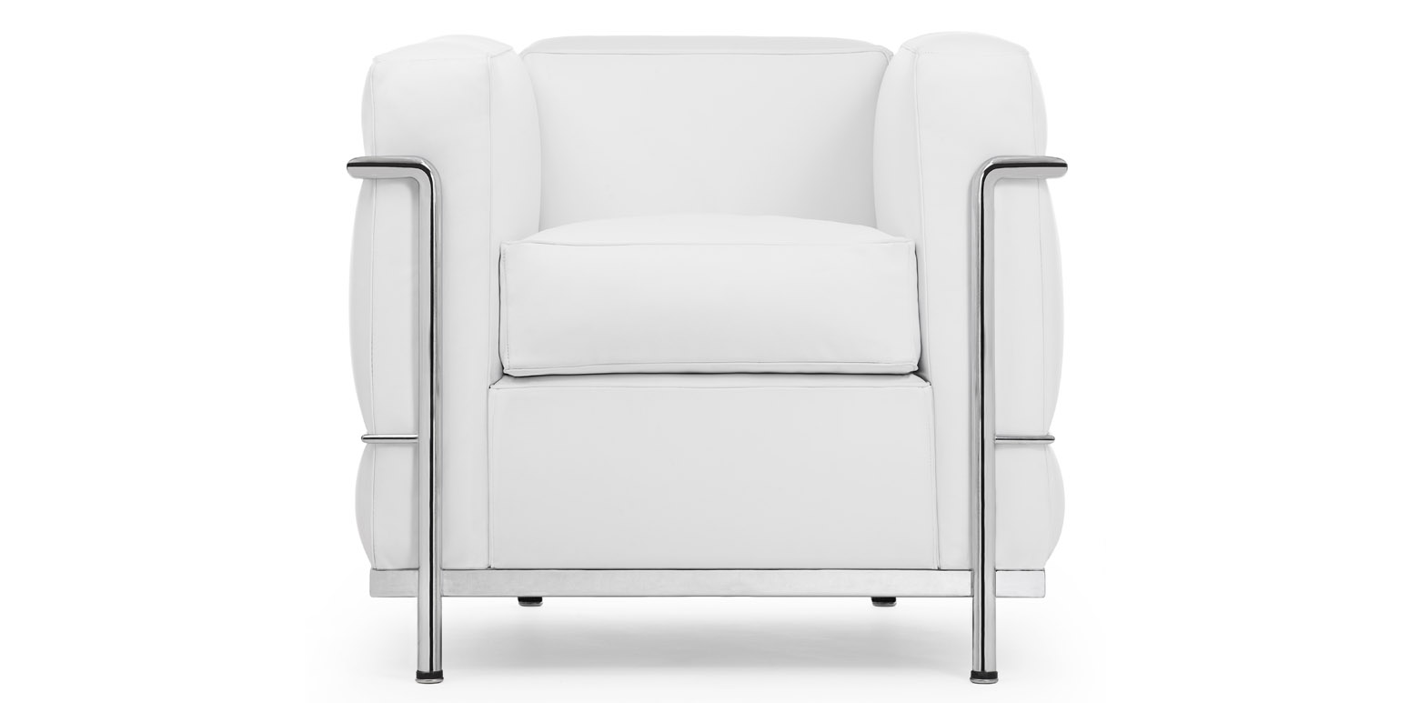 fauteuil lc2 par le corbusier. Black Bedroom Furniture Sets. Home Design Ideas
