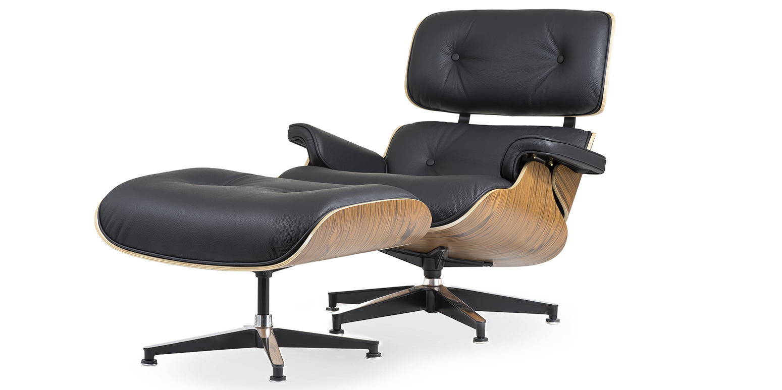 Lounge chair and ottoman - Offer Replica Lounge Chair And Ottoman Charles Eames 1956